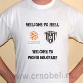 Welcome - Majica bela