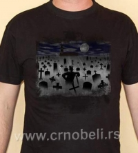 Groblje 2 - Majica crna