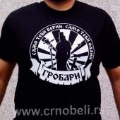 Odani grobari - Majica crna