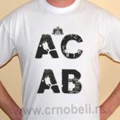 ACAB - Majica bela